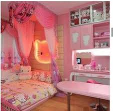 Great Ideas In This Room Easily Converted To Other Themes Hello Kitty  Decorations For Bedroom