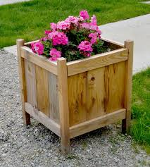 planter box designs.  Box A Low Cost Cedar Planter Throughout Box Designs