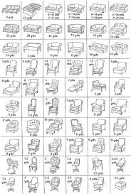 Slipcover Price Chart Upholstery Fabric Yardage Chart And Guide