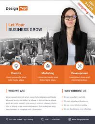 Business Flyer Template Free Download 32 Free Business Flyer Templates Psd For Download Designyep
