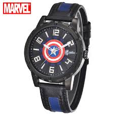 online buy whole disney watches from disney watches 100%authentic disney watches waterproof casual male young people high quality fashion when captain america