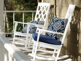 outdoor rocking chair cushion sets