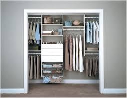 system build closet organizer