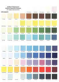 Effetre Color Chart Color Chart