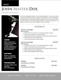 Creative Design Resume DOC Format 40 40 Free CV Template Custom Resume Doc