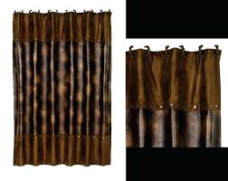 brown shower curtains. Quirky Black And Brown Shower Curtain V4070 Full Image For Luxury Faux Leather Dark . Loveable Curtains