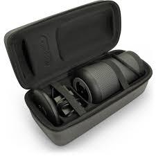 bose revolve plus. igadigtz black eva carrying hard travel case cover for bose soundlink revolve+ plus bluetooth speaker revolve