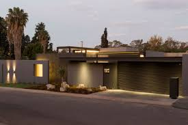 cool flat roof modern house 21 one story