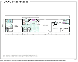 3 bedroom single wide mobile home floor plans awesome modular ideas 1 bedroom homes floor plans
