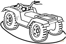 four wheeler coloring pages.  Wheeler Click The ATV Coloring Pages  For Four Wheeler Coloring Pages U
