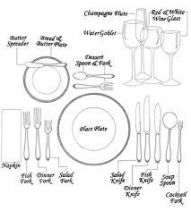 formal table settings. How To Set The Table Snug Hug Co Formal Settings I