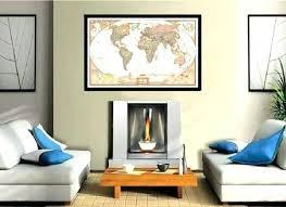 Office wall frames Home Framed Gsminingsite Framed Maps Framed Maps Wood And Aluminum Frames For Wall Maps In