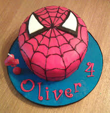 How To Make A Spiderman Cake My Darlings And Me