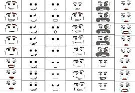 Printable Face Templates Amazing Template For Lego Minifigure Faces School Pinterest Lego