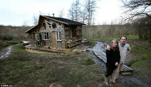 Matthew Lepley and Jules Smith who built Beaworthy eco home must    Planning row  Officials from Torridge District Council have now said that the home must be