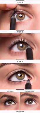 makeup tutorials for small eyes tightline eye makeup easy step by step guides on