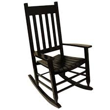 Shop Garden Treasures Black Patio Rocking Chair At Lowes Com Two Person  Home Design Stunning Images