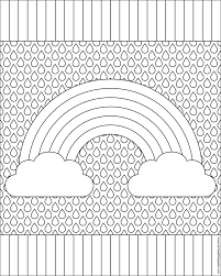 Small Picture Pattern Coloring Pages New Patterned glumme