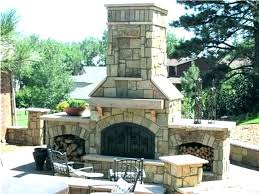 outdoor fireplace pizza oven outside with dimensions combo kits outd