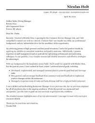 The sample cover letter below includes the key elements you need to persuade a hiring manager 7. 250 Job Winning Cover Letter Examples In 2021 Livecareer
