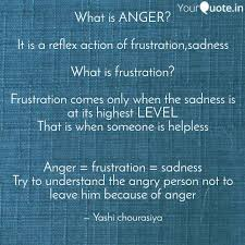 Angry Quotes Adorable What Is ANGER It Is A R Quotes Writings By Yashi Chourishi