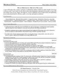 HR Benefits Manager Resume Sample
