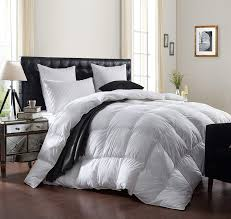 Luxurious 1200 Thread Count Goose Down Comforter 1200tc 100 Egyptian Cotton Cover 750 Fill Power 50 Oz Fill Weight White Color California