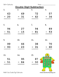 Subtraction Worksheets | Have Fun Teaching