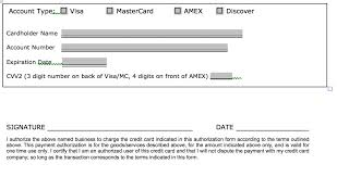 Download One 1 Time Credit Card Authorization Payment Form Pdf