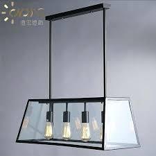 chandelier rectangle com vintage iron loft restaurant chandelier for rectangular glass prepare