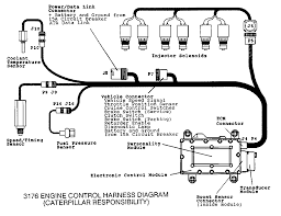 3176 engine electronic troubleshooting electronic 3176 engine system component diagram