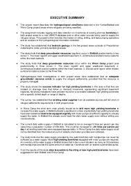 Executive Summary Document Wash Uganda Executive Summary Of The