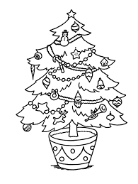 Christmas Tree Coloring Pages Coloring Book 8 Free Printable