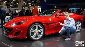 FIRST LOOK at the NEW Ferrari Portofino! - YouTube