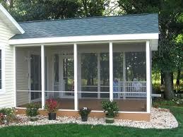 ideas screened in patio kits for stylish enclosed porch kits 62 diy aluminum screen porch kits