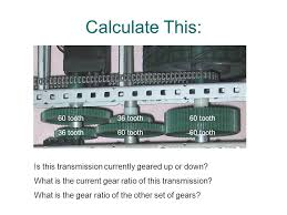 38 calculate this 60 tooth