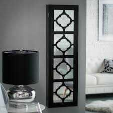Wall Mount Cabinet With Lock Have To Have It Belham Living Lighted Locking Quatrefoil Wall