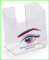 custom business card holder for desk inspirational custom acrylic brochure holders awesome countertop flyer holder with