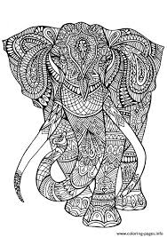 Small Picture adult coloring pages elephant Coloring pages Printable