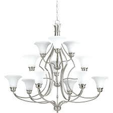 3 tier chandelier progress lighting applause twelve light 3 tier chandelier odeon crystal fringe 3 tier
