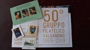 Sei francobolli e quattro annulli, nozze d'oro per il Gruppo Filatelico  Valgandino – Fa Mia SITO