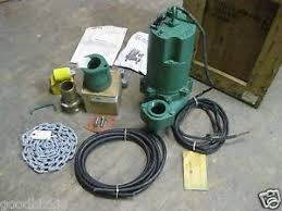 myers sewage pump myers submersible sewage pump model whr7 03