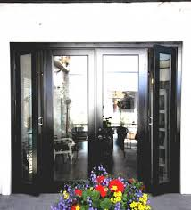 medium size of black polished double bi fold entry door glass inserts double front door with