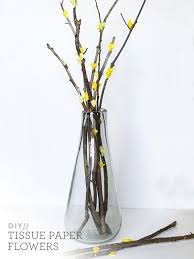 Paper Flower Branches Diy West Elm Inspired Paper Flower Branches I Didnt Just Pin It I