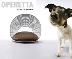 modern dog furniture. Industrial And Furniture Designer Kenneth Cobonpue Has Turned His Talents Toward Designing For Our Furry Friends. Operetta Pet Lounge Takes Its Design Modern Dog R