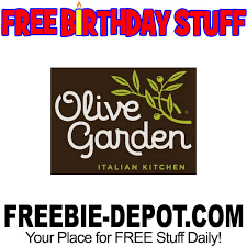 olive garden guests can receive a free dessert as a special birthday gift simply visit their website and sign up for the olive garden rewards
