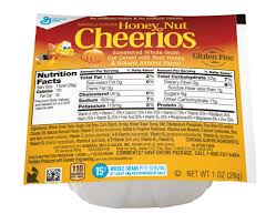 honey nut cheerios cereal single serve bowlpak 1 oz general mills convenience and foodservice