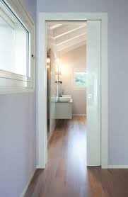 Simple, functional, strong and reliable: this is the essential sliding  pocket door.