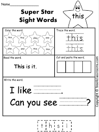 Download all our sight words worksheets for teachers, parents, and kids. Pin On Phonics Sight Words Blending Worksheets