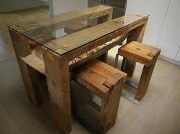 Kitchen Table Glass Top Reclaimed Wood Dining Table Glass Top Reclaimed Wood Kitchen